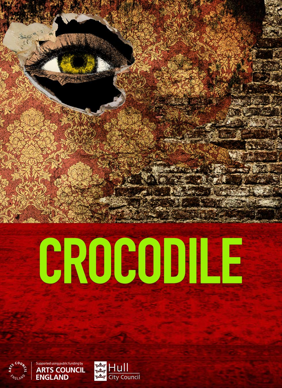 Crocodile by Lente Verelst